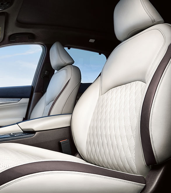 2019 INFINITI QX50 Luxury Crossover Seats