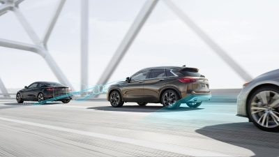 2019 INFINITI QX50 Luxury Crossover Drive Assist Technology