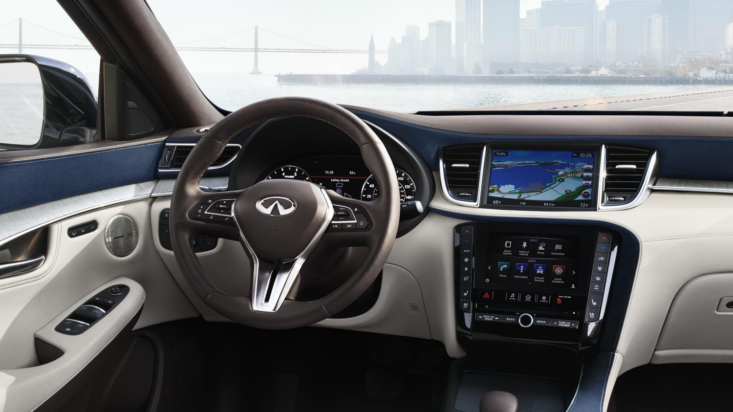 2019 INFINITI QX50 Luxury Crossover Connectivity