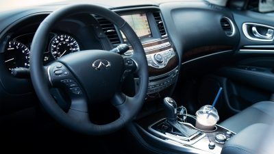 2020 INFINITI QX60 Crossover Speed Sensitive Power Steering