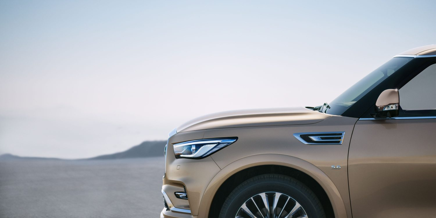 2018 INFINITI QX80 SUV Design Overview
