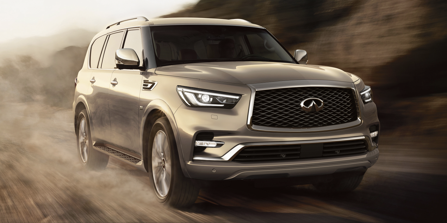 2018 INFINITI QX80 SUV | Power and Performance in Action