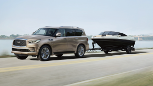 2018 INFINITI QX80 Luxury SUV Safety Features Thumb