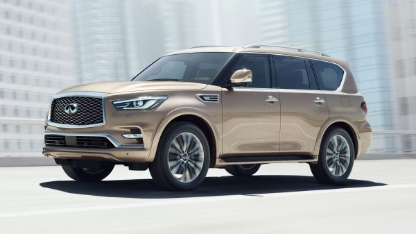 2018 INFINITI QX80 Luxury SUV Exterior Larger 22 Inch Wheel Design