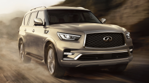 2018 INFINITI QX80 Luxury SUV Explore Performance Engine Thumb