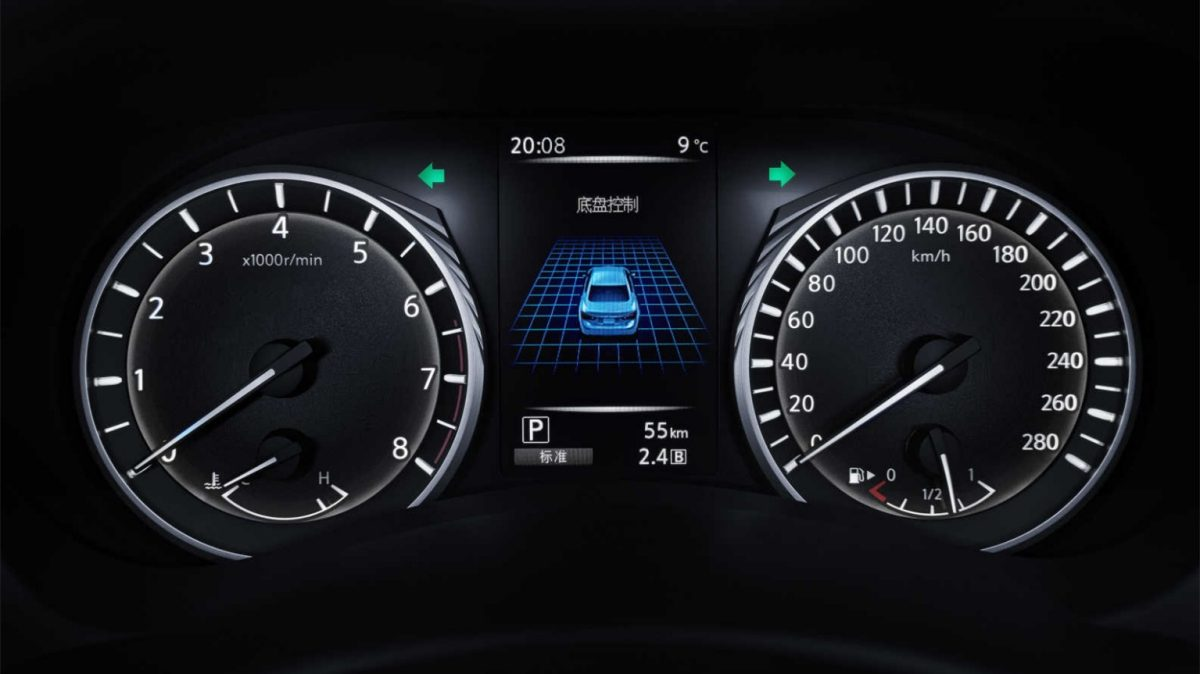 2018 INFINITI Q50 Red Sport Sedan Design Gallery | Premium Leather Shift Knob