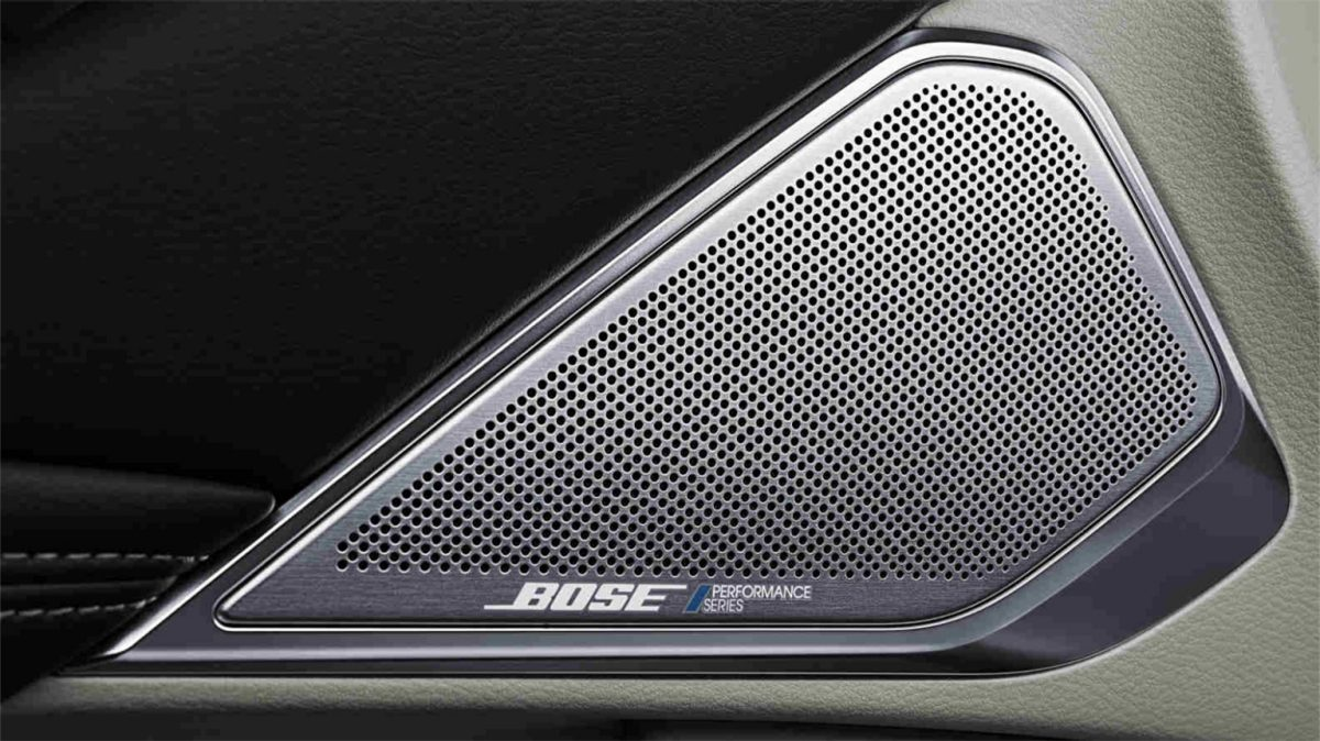 2018 INFINITI Q50 Red Sport Sedan Design Gallery | The Bose? Performance Series Audio System