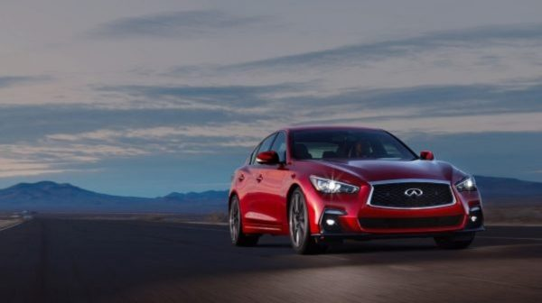 2018 INFINITI Q50 Red Sport Sedan Performance | Steering