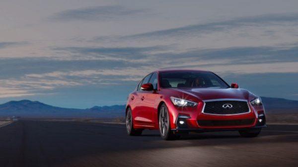2018 INFINITI Q50 Red Sport Sedan Performance | Steering