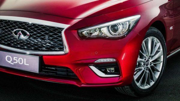 2018英菲尼迪Q50L| 車頭燈