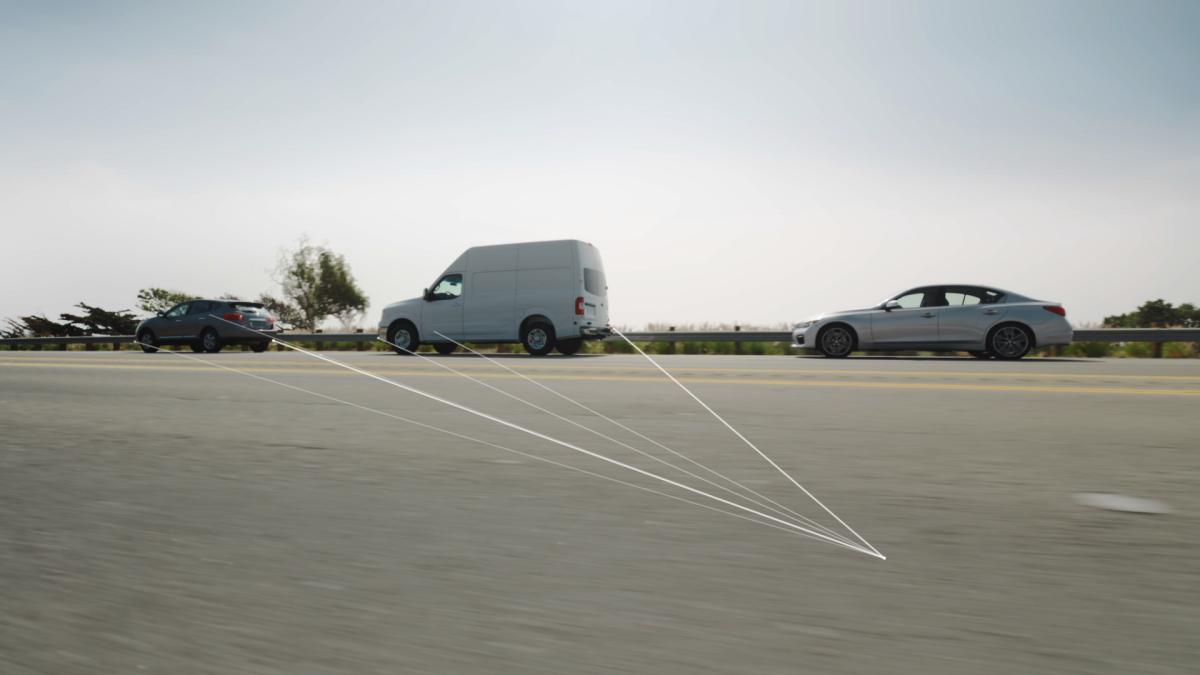 英菲尼迪Q50 超视距前端碰撞预警系统