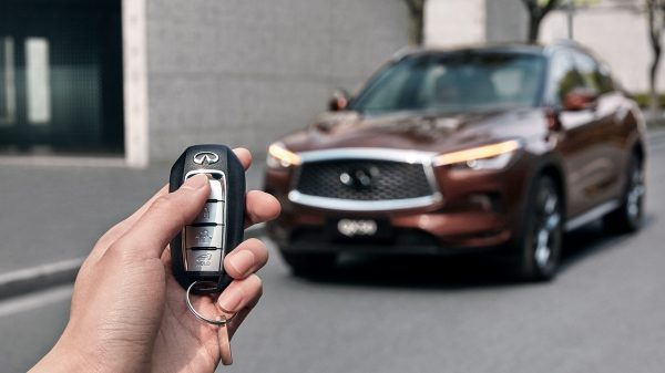 2020 INFINITI QX50 Luxury Crossover Intelligent Key
