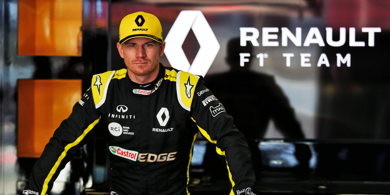 INFINITI and Renault Sport Formula 1 Driver Nico Hülkenberg