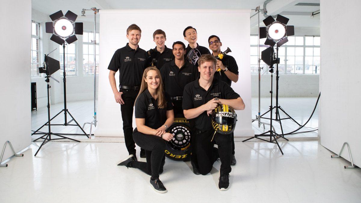 INFINITI Engineering Academy Formula 1 Integration
