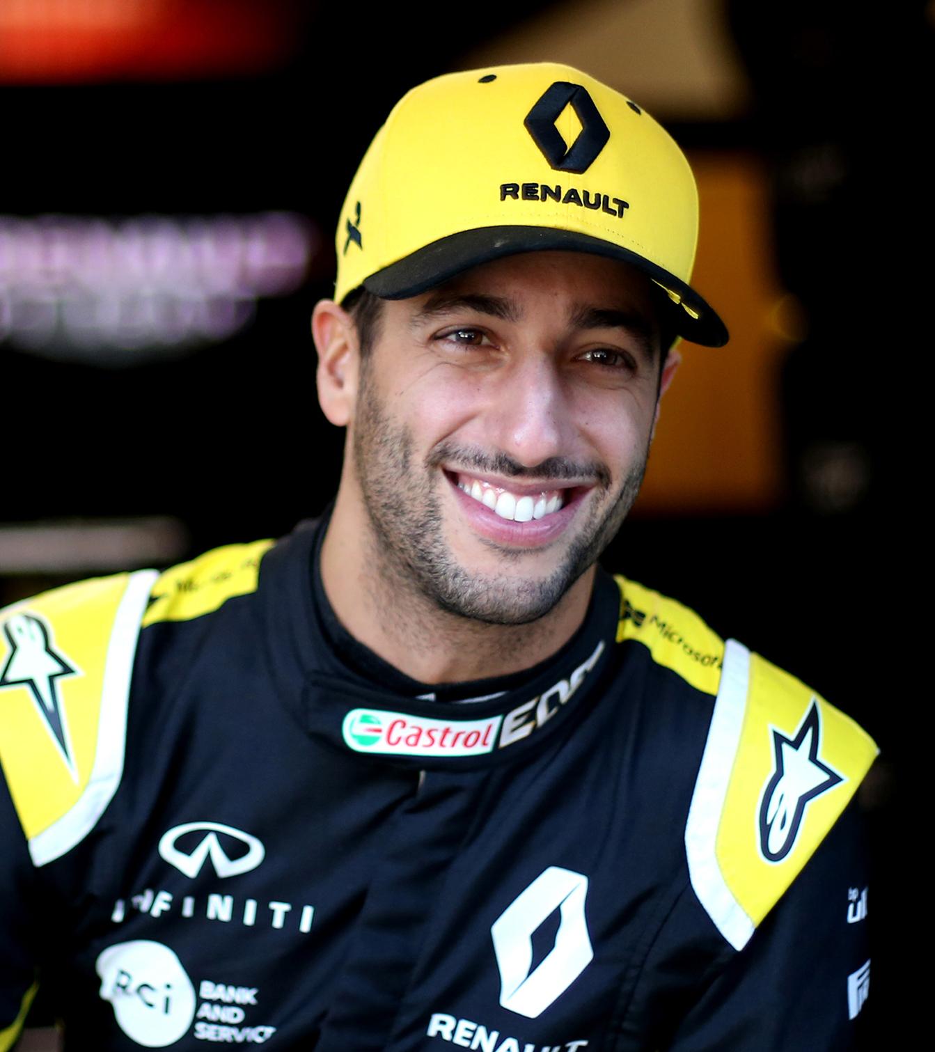 INFINITI and Renault Sport Formula 1 Driver Carlos Sainz
