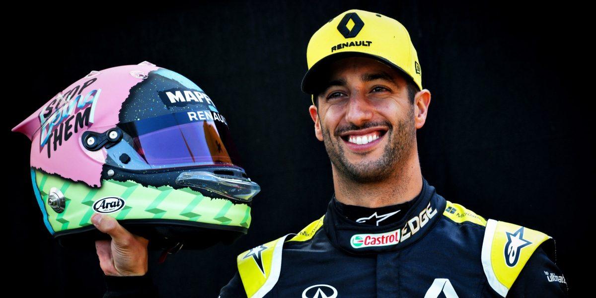 英菲尼迪和雷諾F1賽車手