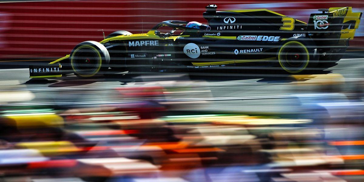英菲尼迪和雷諾F1賽車