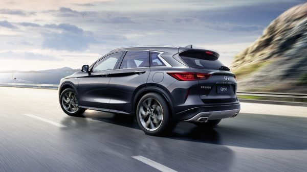 2019 INFINITI QX50 Luxury Crossover Updated Chassis