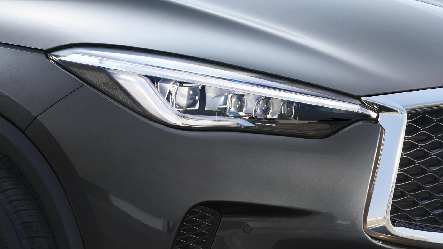 2019 INFINITI QX50 Luxury Crossover Adaptive Lighting