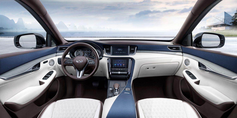 2019 INFINITI QX50 Luxury Crossover Interior