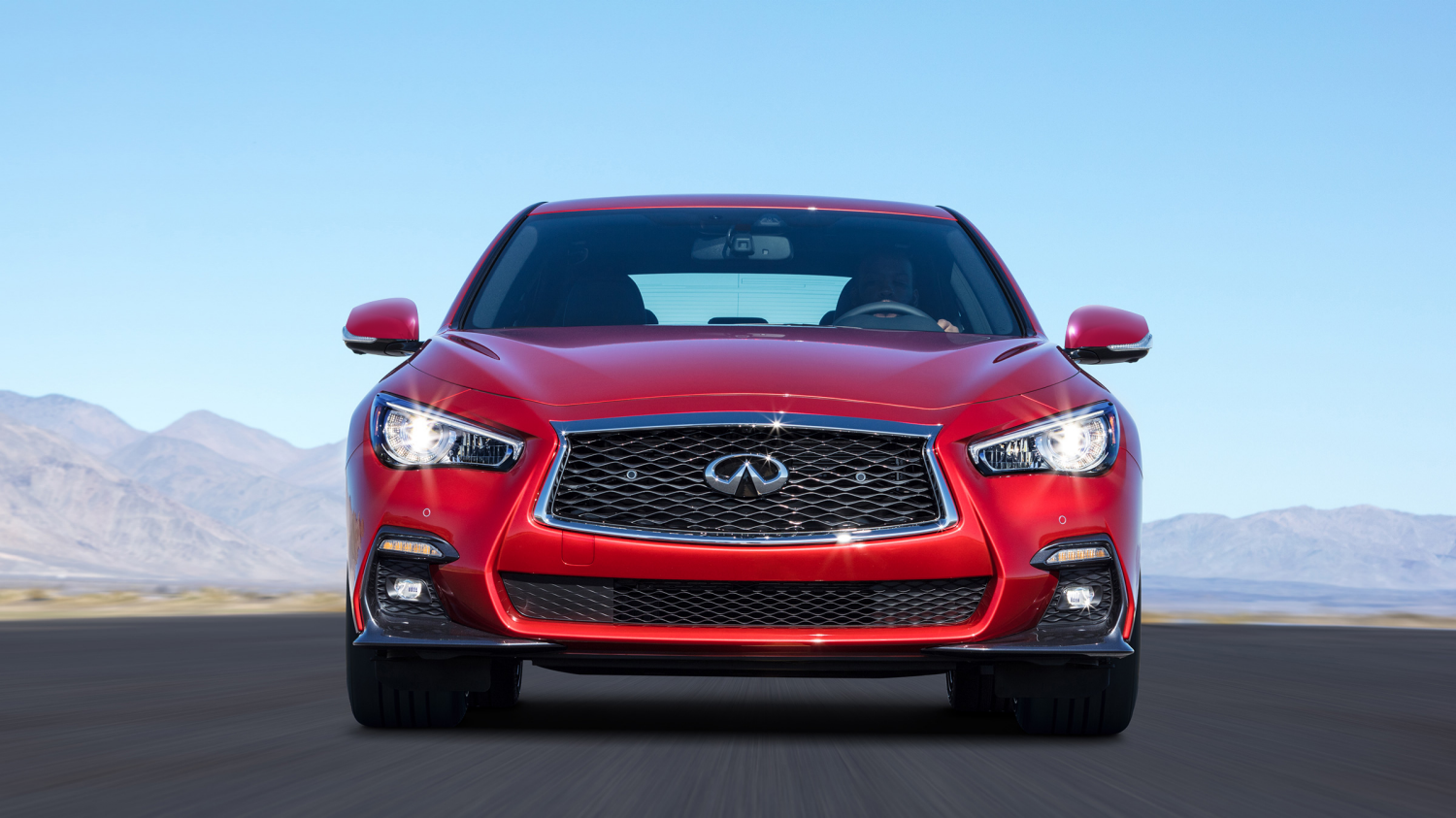 2018 INFINITI Q50 Red Sport Sedan Performance | Up to 400 Horsepower