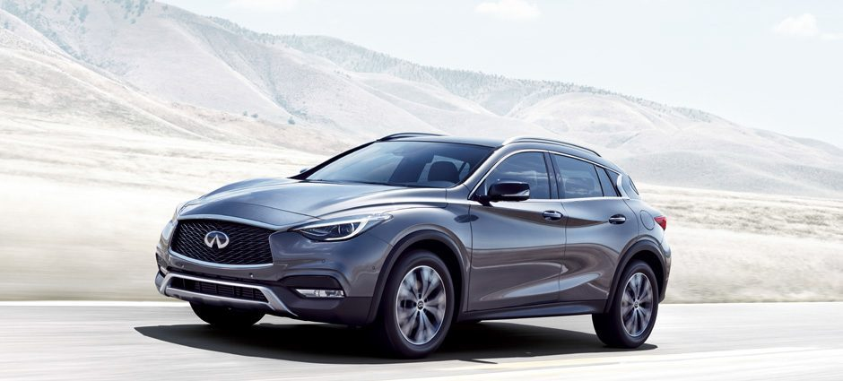 2018 INFINITI QX30 Premium Crossover Safety and Control