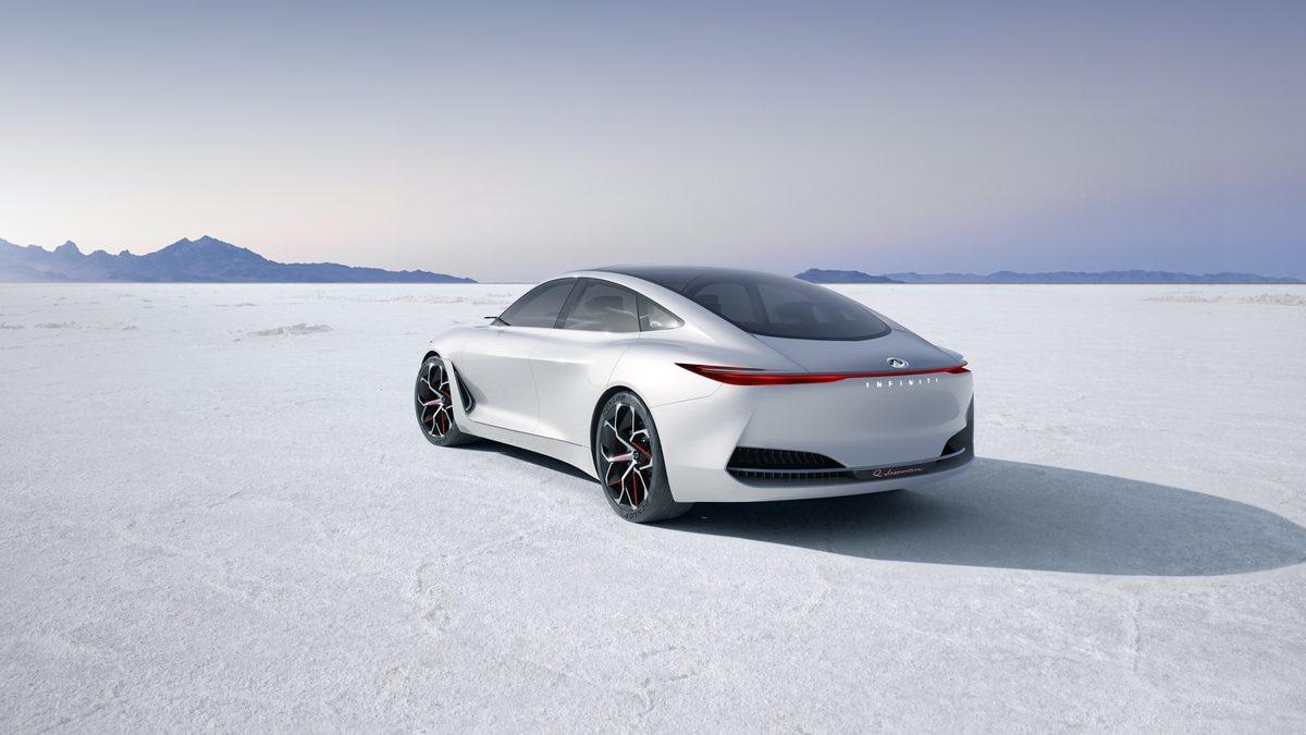 英菲尼迪Q Inspiration概念车2018北美国际车展全球首秀