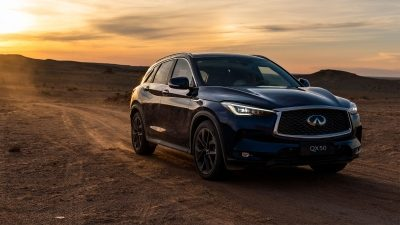 INFINITI QX Series and The Explorers Club Gobi Desert Exploration Partnership