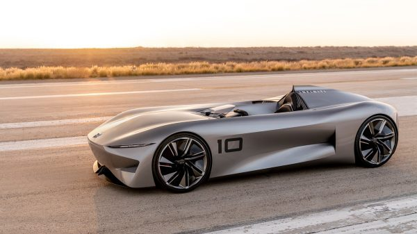 Infiniti Prototype 10 Brand New Concept Car Mobile News