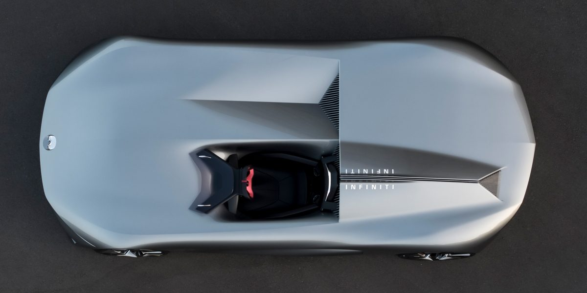Infiniti Prototype 10 Concept Car Flowing Bodywork