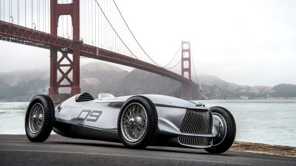 Introducing The INFINITI Prototype 9 e-Roadster