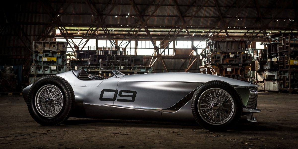 A Classic Look With a Drive Train of the Future | INFINITI Prototype 9 e-roadster