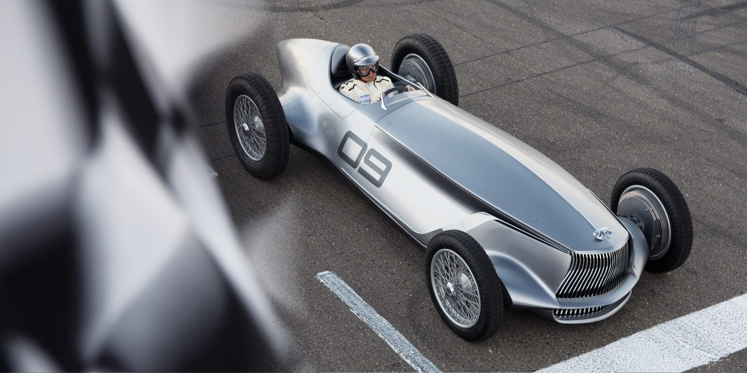A Celebration for INFINITI's Passion for Design and Racing | INFINITI Prototype 9 e-roadster