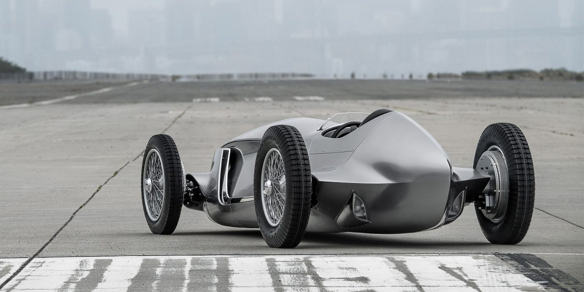 Rear Side Profile Design | INFINITI Prototype 9 e-roadster