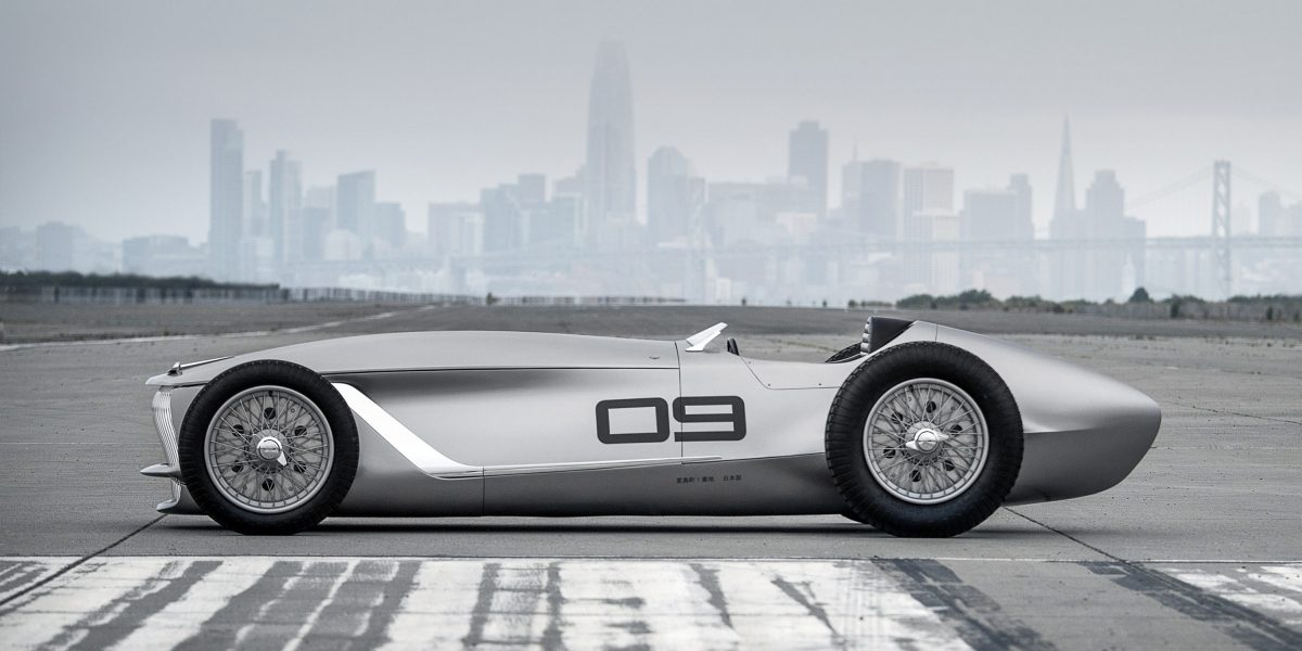 Side Profile Design | INFINITI Prototype 9 e-roadster