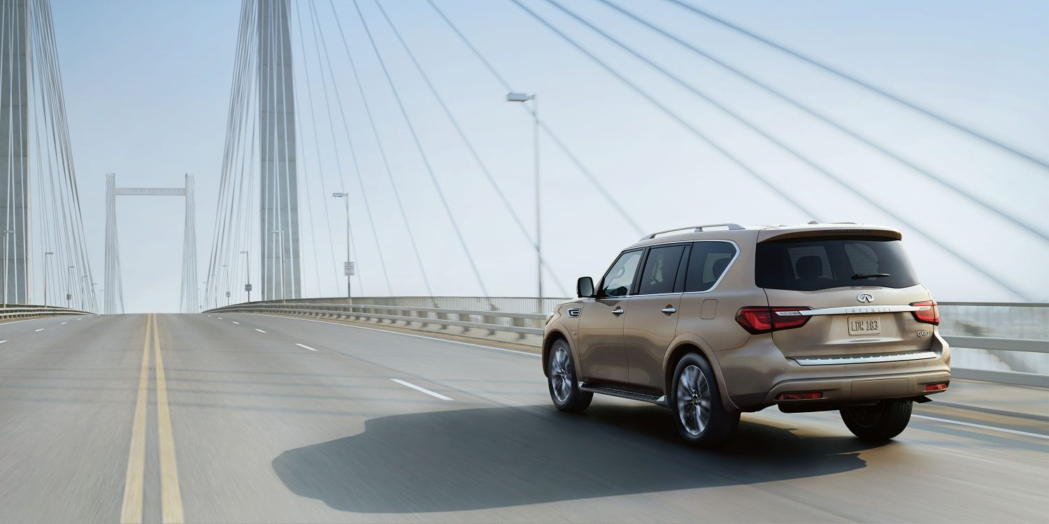 Introducing the 2018 INFINITI QX80. A distinctive and powerful luxury SUV.