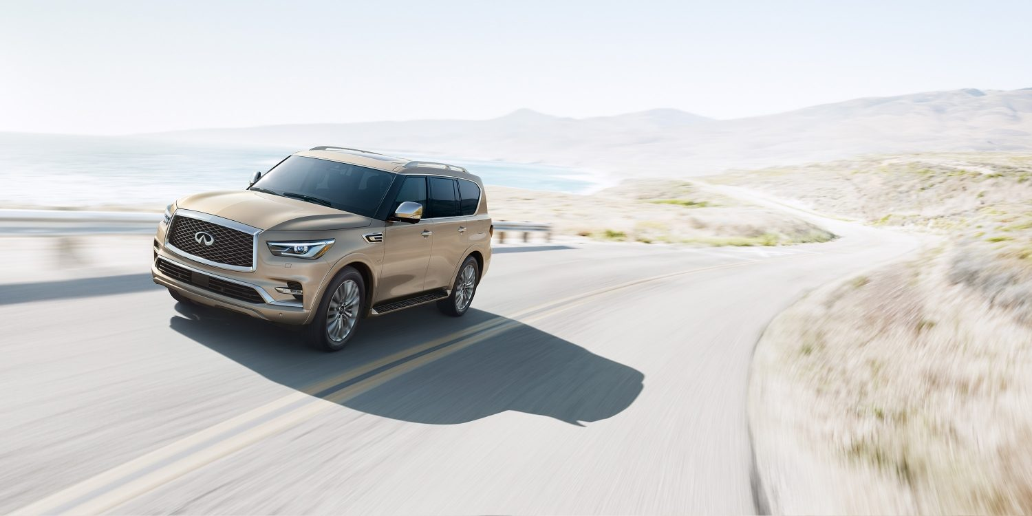2018 INFINITI QX80 SUV Performance | Engineered for Luxury and Performance Without Limits