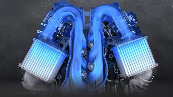 Infiniti the Twin Turbo V6 Engine | INFINITI