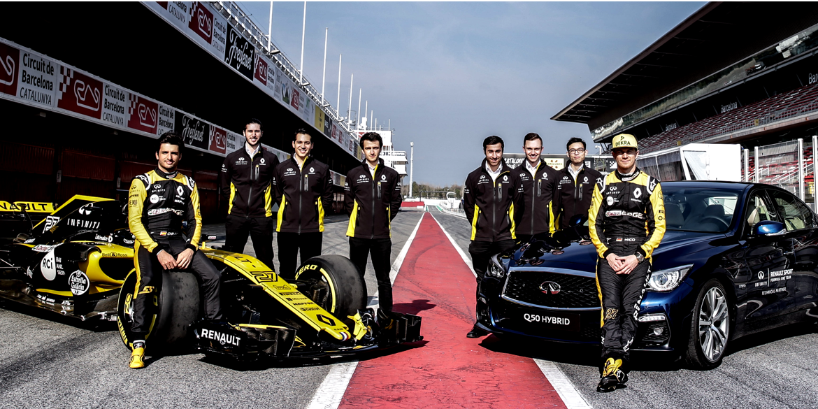 INFINITI Engineering Academy Formula 1 Integration
