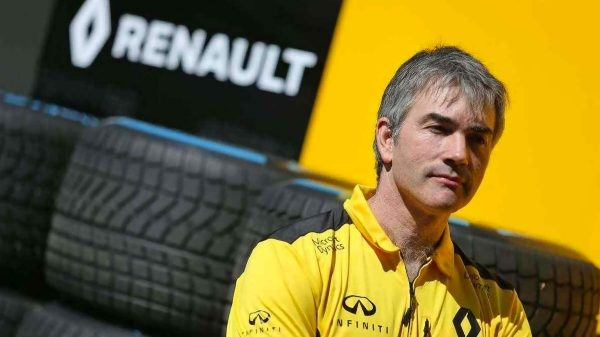 Nick Chester, Technical Director, Renault Formula One Sport Racing